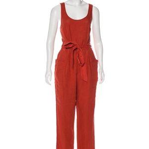 Rachel Zoe Linen Vintage Style Jumpsuit